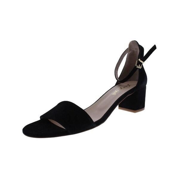 Free People Womens Block Heels Open Toe Ankle Strap