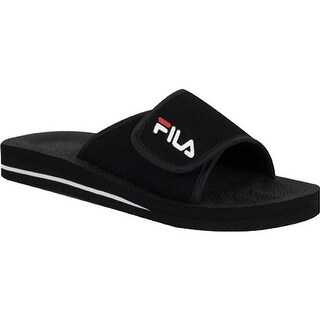Fila Men's Slip On 1SC036XX Black/White/Chinese Red