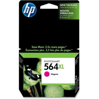 HP 564XL High Yield Magenta Original Ink Cartridge (CB324WN)(Single Pack) HP 564XL Magenta Ink Cartridge - Magenta -