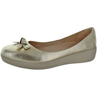Fitflop Women's Pretty Bow Superballerina Flats Shoes