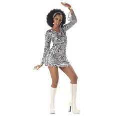 Disco Diva Sexy Adult Womens Halloween Costume (4 options available)