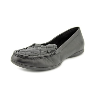 Bella Vita Mercedes N/S Moc Toe Leather Loafer