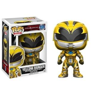 POP Power Rangers Movie Yellow Ranger