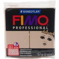 Fimo Professional Doll Art Clay 2Oz-Opaque Sand