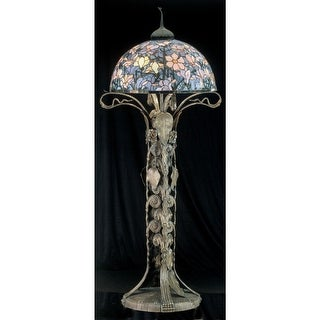 Meyda Tiffany 49874 Stained Glass / Tiffany Floor Lamp from the Classic Tiffany Collection - tiffany glass - n/a