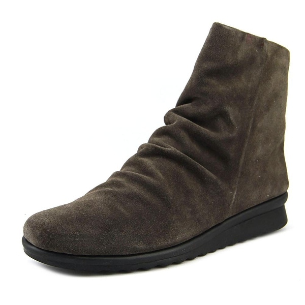 The Flexx Pan Fried Women Round Toe Suede Brown Ankle Boot