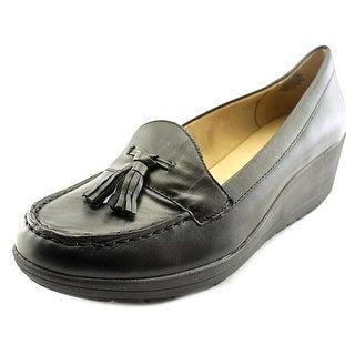 Easy Spirit e360 Coria W Moc Toe Leather Loafer