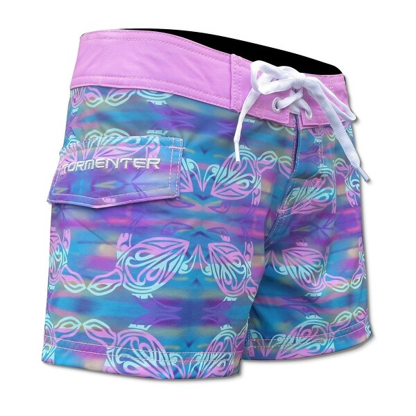 "Tormenter Womens Turtle 3.5"" Boardshorts"