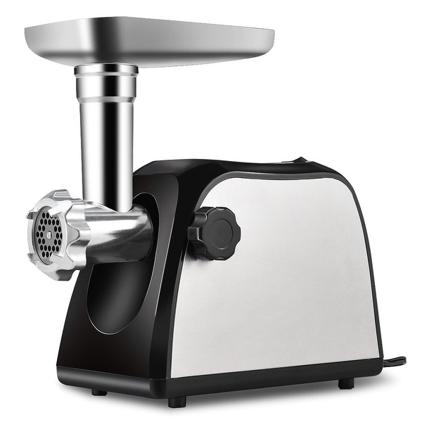 Shop Costway Electric Meat Grinder 2000w Stainless Steel