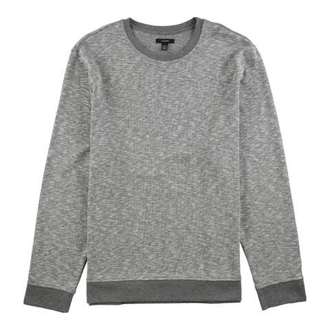 Alfani Mens Star Slub Sweatshirt, Grey, Large