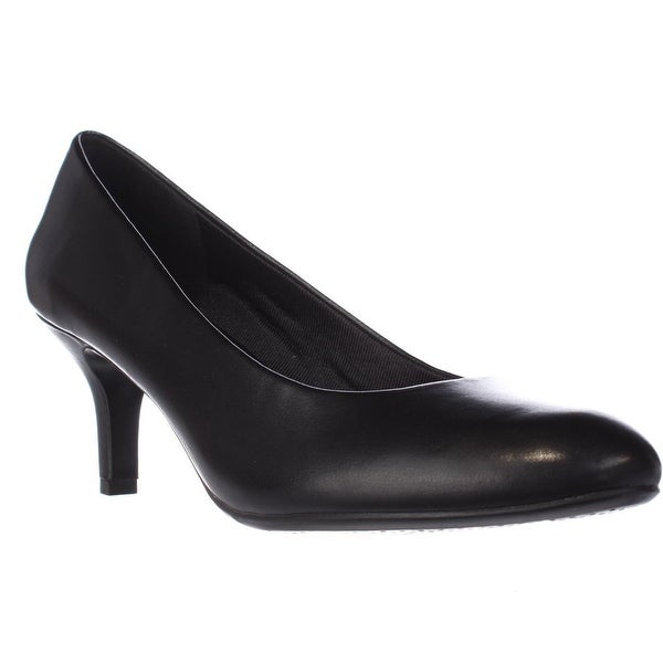 Easy Street Passion Round Toed Dress Pumps, Black