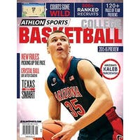 201516 Athlon Sports College Basketball Preview Magazine Arizona Wildcats Cover