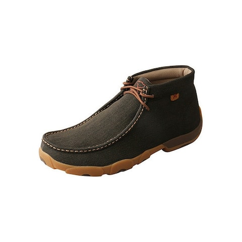 Twisted X Work Shoes Mens Chukka Lace Steel Toe Brown