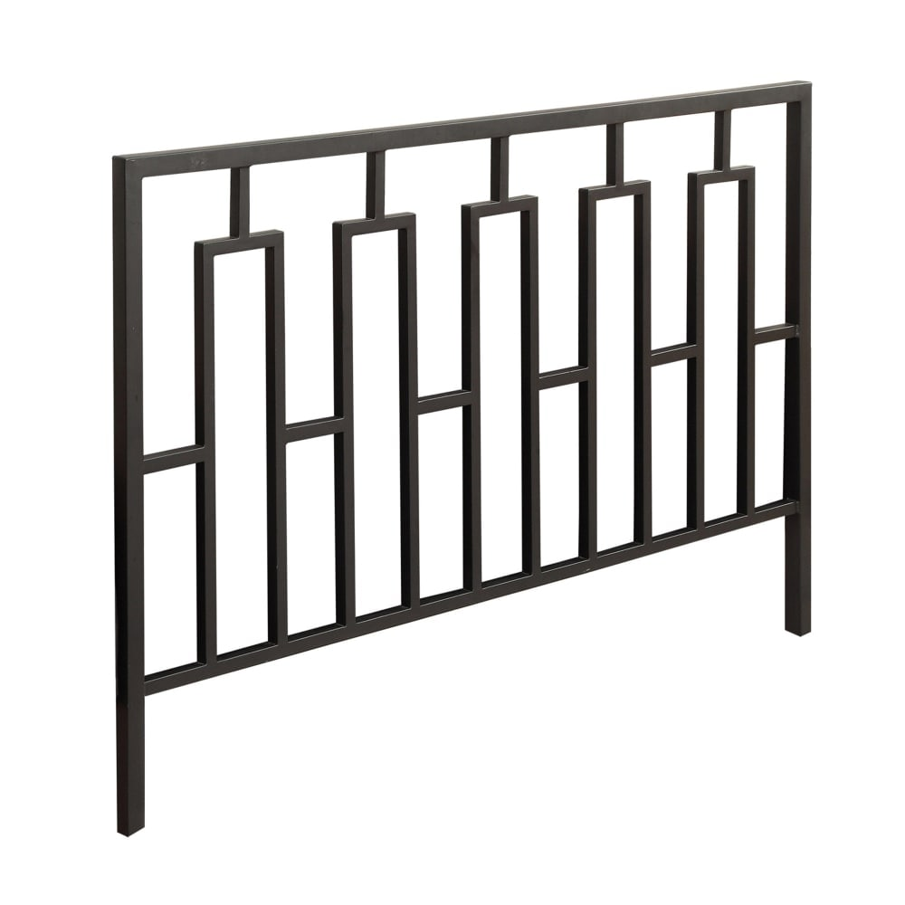 Monarch Specialties I 2616Q 47 Inch Tall Metal Queen/Full Size Headboard or Foot - Black