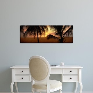 Easy Art Prints Panoramic Images's 'Sunset on 7