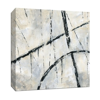 """PTM Images 9-147503  PTM Canvas Collection 12"""" x 12"""" - """"Urban Over"""" Giclee Abstract Art Print on Canvas"""