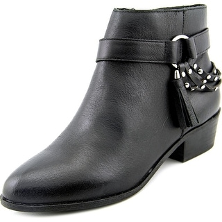 Chinese Laundry Seasons Women Round Toe Leather Ankle Boot