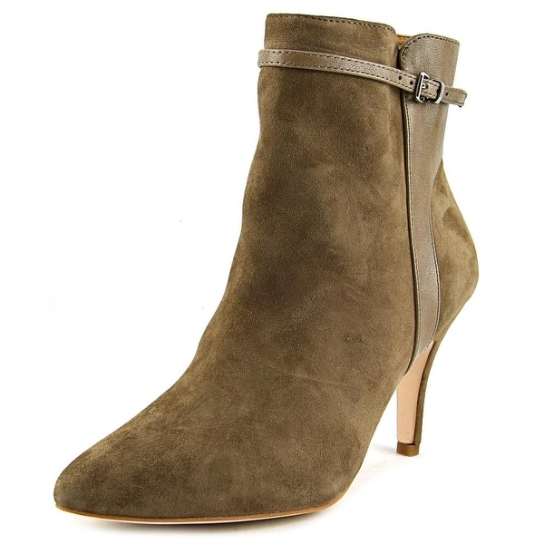 Corso Como Radiant Women Pointed Toe Suede Tan Ankle Boot