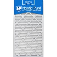 Nordic Pure 12x30x1 Pleated MERV 12 AC Furnace Air Filters Qty 6