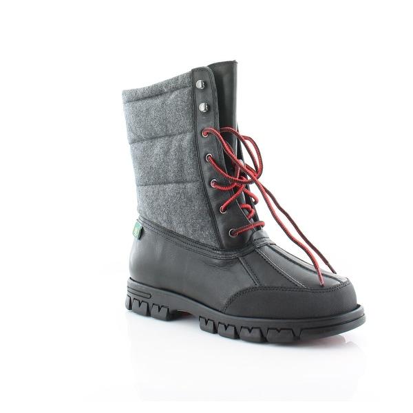 Ralph Lauren Quinlyn Women's Boots Black / Grey - 9.5