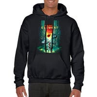 The Fifth Element 5th Element Men's Black Hoodie