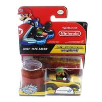 World of Nintendo Tape Racer Action Figure: Luigi - multi