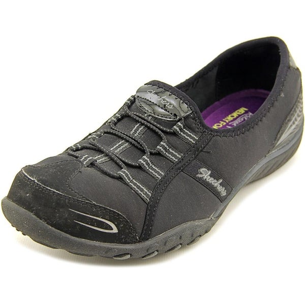 Skechers Breathe-Easy-Good Life Round Toe Canvas Walking Shoe