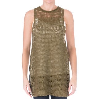 Elizabeth and James Womens Tank Top Cord Pointelle