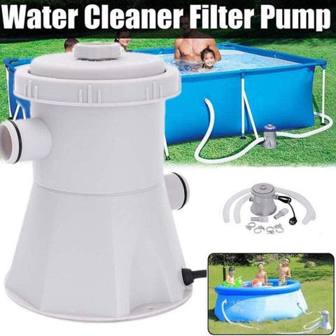 Pool Pumps Above Ground Electric Swimming Pool Cartridge Filter Pump System Pool Water Cleaner