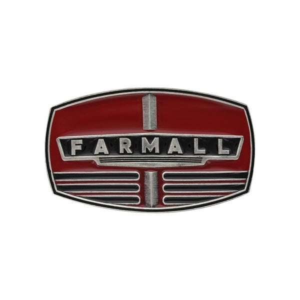 "Montana Silversmiths Belt Buckle Adult Farmall Case IH Red - 3.375"" x 2"""