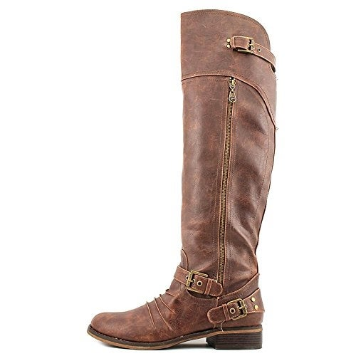 G by Guess Womens Hektor Closed Toe Over Knee Fashion Boots