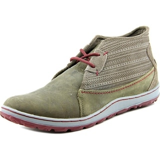 Merrell Ashland Chukka Women Round Toe Leather Gray Chukka Boot