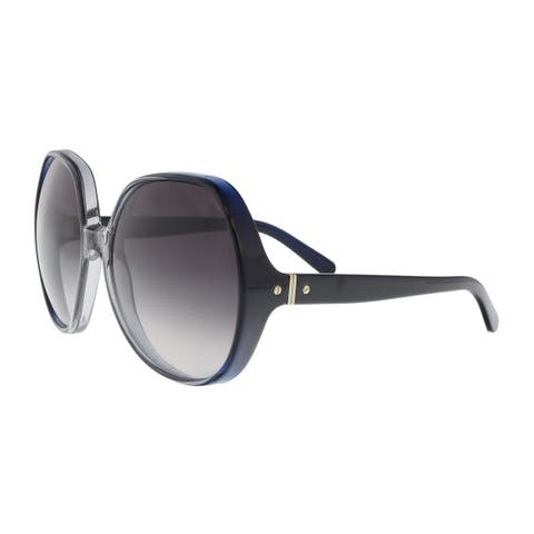 4bb1687eb444a Chloe CE717S 426 Gradient Blue Grey Modified Rectangle Sunglasses -  63-18-125