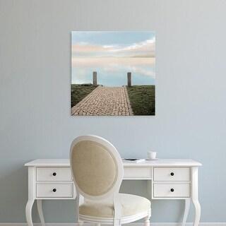 Easy Art Prints Alan Blaustein's 'Sunrise Harbor Vista' Premium Canvas Art