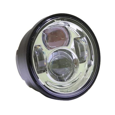 "4.65"" 40W 6000K White Light Die-cast Aluminum LED Headlight Car Tools"