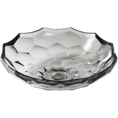 "Kohler K-2373 Artist Editions Briolette Glass 4-3/4"" x 17-1/2"" Vessel"