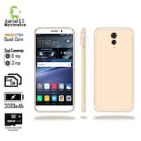 4G LTE Unlocked SmartPhone by Indigi (QuadCore @ 1.2GHz + Android 6 Marshmallow + 8MP CAM + 2SIM + Fingerprint) + 32gb microSD
