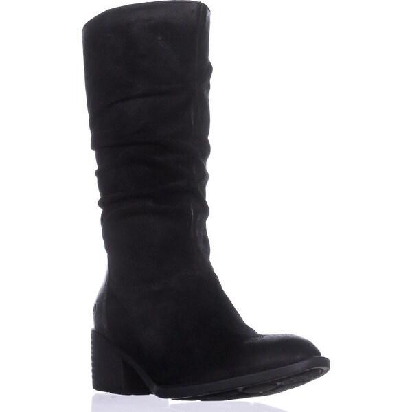 Born Peavy Casual Block-Heel Boots, Black