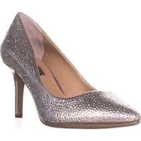 I35 Zitah6 Classic Heels, Pearl Gold