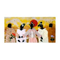 ''The Matchmaker'' by Willie Torbert African American Art Print (13 x 19 in.)