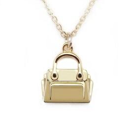 "Julieta Jewelry Handbag Gold Charm 16"" Necklace"