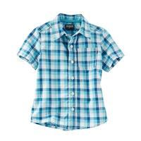 OshKosh B'gosh Little Boys' Plaid Button Front Shirt, 3-Toddler