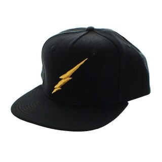 Harry Potter Bolt Black Snapback Hat