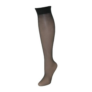 Leggs Women's Plus Size Nylon Knee Highs (Pack of 2) - One Size