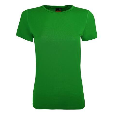 Icebreaker Women's Oasis Crewe T-Shirt - Frond