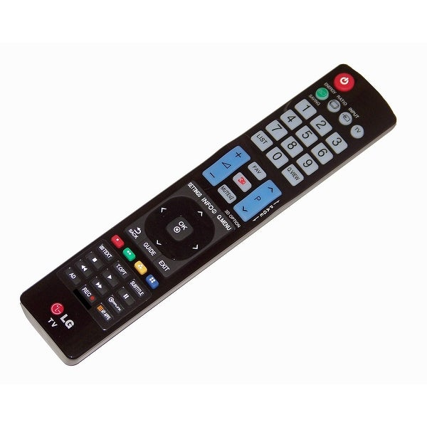 OEM LG Remote Control Originally Shipped With: 32WL30MS-B, 38WR50MS, 38WR50MSB