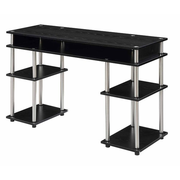 Porch & Den Japonica No Tools Student Desk with Shelves. Opens flyout.