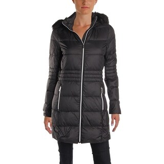 French Connection Womens Packable Coat Fall Down