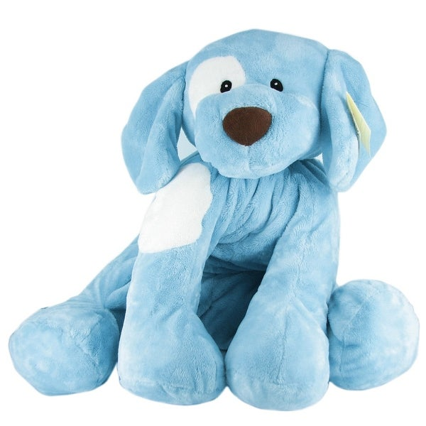 Gund Baby Big Spunky Blue Dog