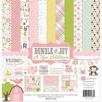 Echo Park Paper Company Bundle of Joy Girl 2 Collection Kit